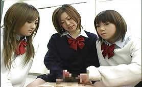 Japanese schoolgirls ejaculate and then beat their boyfriends. Weird.