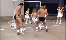 Football is more interesting and fun in Japan naked
