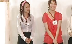 Office girls live sex competition Tokyo