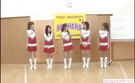 Japanese Cheerleader Timestop Weird Sex