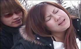 Japanese public sex video
